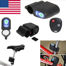 Wireless Bicycle Cycling Remote Control Security Lock Vibration Anti-theft Alarm
