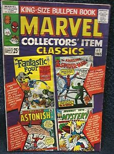 MARVEL Collectors' Item Classics #1 (1965) - EARLY Spiderman, FF, Thor & Antman
