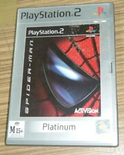 Playstation 2 PS2 Game - Spider-Man (Platinum)