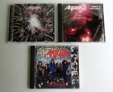 Lot of 3 Anthrax CD's - I'm The Man, We've Come All, Sound White Noise