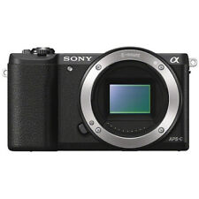 Fotocamere digitali neri serie Sony α supporto pictbridge