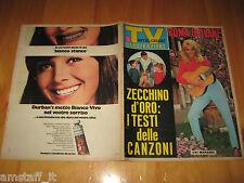 TV SORRISI E CANZONI=1966/12=EVI MARANDI=ZECCHINO D'ORO=STUDIO UNO=