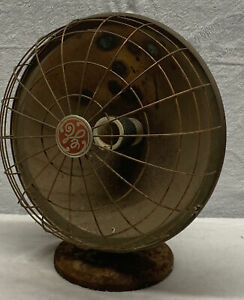 100 year old VINTAGE GE ELECTRIC ALL METAL  Heater antique Steam Punk Decor