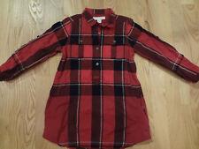 BURBERRY Girl's Nova Check Shirtdress Dress Size 4Y BNWOT