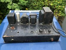 Antique 1940s Tube Amplifier uses Dual 2A3 5Z3 76 Organ Amp?