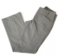 The Limited Collection Women's Gray Cassidy Fit Flared Dress Career Pants 0S NEW