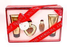 Victoria's Secret 4PC Rapture Eau De Parfum Body Lotion Body Wash Gift Set