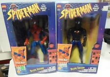 "Toy Biz 10"" Lot of 2 Spider-man Wall Hanging  Action Figures Boxed Marvel 1994"