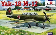 1/72 Aircraft Yak-18 M-12  Amodel 72198 Model kit