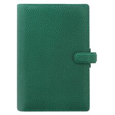 Filofax Personal Size Finsbury Leather Organizer Forest Green 025447 Brand New