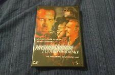Highlander L'ultimo Immortale Dvd