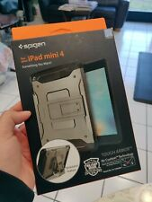 Spigen Case for iPad Mini 4 gunmetal Tough Armor Tech SGP11737 F/S