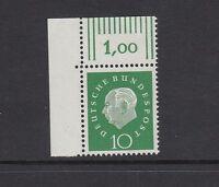 BRD Mi-Nr. 303 ** postfrisch aus Bogenecke oben links