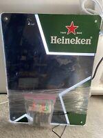 Vintage Heineken Beer Light Up Dry Erase Menu Board