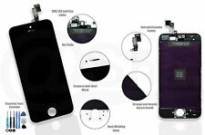 IPhone 5S BLACK LCD Display Touch Screen Digitizer Replacement UK (HIGH-QUALITY)
