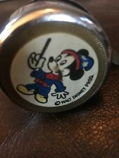 Vintage Walt Disney MICKEY MOUSE Bicycle Bell Made in Germany w/Clamp WORKSy