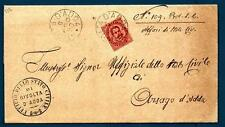 ITALIA - Regno - 1890 - Da Rivolta d'Adda a Arzago - 10 c. - Effigie di Umberto