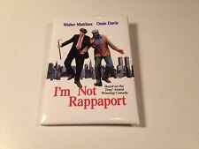 I'm Not Rappaport Original Movie Promo Pin Button Badge Film Promotional