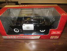 Sun Star U.S.A. Collection/Chevy Bel Air 1954 Police, in schw./weiß, Maßst. 1:18