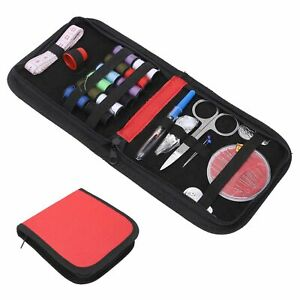 Sewing Kit Portable Tool Set Accessories With 12 Color Threads For Travel Home