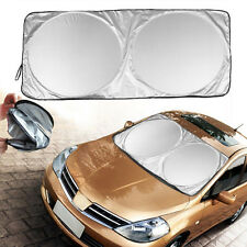 Folding Jumbo Car Front Rear Window Sun Shade Auto Visor Windshield Block Cover