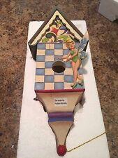 Disney Jim Shore Tink Tinker Bell Birdhouse Bird House 4013256 New in Box Rare