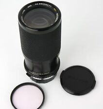 Used Soligor C/D Zoom Macro 80-200mm f4.5 MC OM Lens for Olympus manual focus