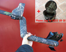 Rain Dust Covers for Minelab Etrac metal detector full kit + phones bag(4 pcs)