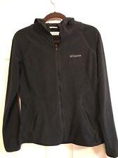 Warm Women's SMALL Columbia BLUE Long Sleeve Zipper Hoodie Jacket