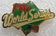 Pin's 1987 World Series Base Ball Peter David #119