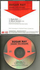 SUGAR RAY Chasin you Around w/ RARE RADIO EDIT PROMO DJ CD Single USA 2003 MINT