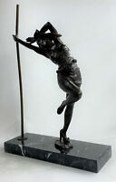 Signed Original Italian Artist Aldo VitalBronze Sculpture Handmade Figure SALE