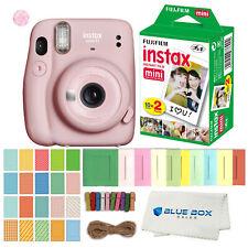Fujifilm Instax Mini 11 Instant Film Camera (Blush Pink) Film and Accessories