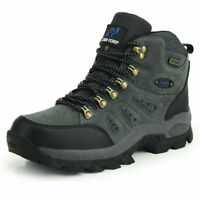 Mens Walking Hiking Trail Waterproof Breathable Mid high-cut Boots Outdoor shoes