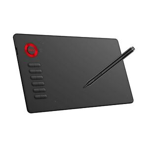Graphics Drawing Tablet, VEIKK A15 10x6 inch Digital Graphics Tablet with Bat...