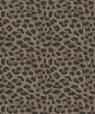 Fine Decor Furs Wallpaper FD30684 - Animal Print Leopard Cheetah Metallic White