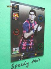 Champions League 2015 Limited Edition Suarez  Panini Adrenalyn 14 15
