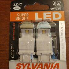 Sylvania ZEVO Super Bright WHITE LED 3157 3057 4114 4057 4157 6000K Made n ITALY