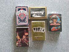 Lot of 5 Decks of Playing Cards Stratus Dickson Richard Petty Vegas World Micro