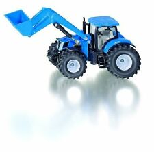 SIKU 1986 Holland T7070 Tractor With Front Loader Blue Scale 1 50 °