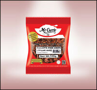Sun Dried Maldive Tuna Spice FISH CHIPS for Curries From Ceylon Mc Currie