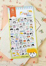 Cute Cartoon Stickers 2pc aujourd'hui Sonia Kids Planner Scrapbooking Journal Autocollant