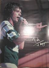 Mick Jagger 1983 Bi-Rite poster, 20x28, Vg+, Rolling Stones
