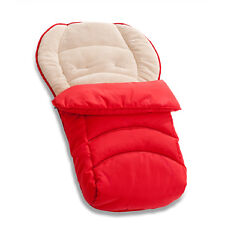 Hauck Red 2 Way Cosytoe Reversible Universal Baby Pushchair Footmuff