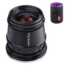 TTartisan 17mm F1.4 Clicked Aperture 81° Wide-Angle Lens For M4/3 Mount Cameras
