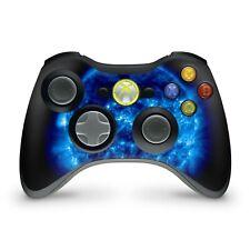 Xbox 360 Controller Skin Aufkleber Schutzfolie Sticker Skins Vinyl Blue Giant