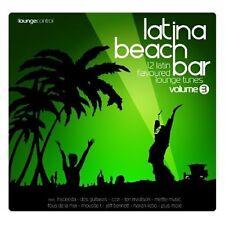Latina Beach Bar 3 (2004) Mettle Music, Megablast, Mousse T, Hacienda, Je.. [CD]