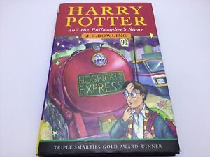 Harry Potter and the Philosopher's Stone early print Hardback book with Errors