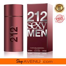 Carolina Herrera 212 Sexy Men EDT Spray Cologne*BRAND NEW Sealed Box*3.4oz/100ml