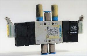 Festo Magnetventil CPE10-M18H-5J-QS-6 196877 D202 Pneumatikventil